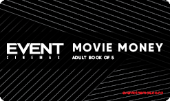 Movie Money Book of 5 - Adult