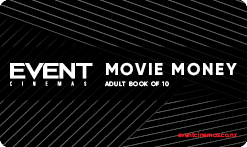Movie Money Book of 10 - Adult
