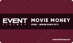 Movie Money Book of 5 - Child/Senior