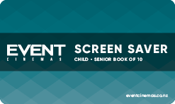 Screen Saver Child/Senior Book of 10