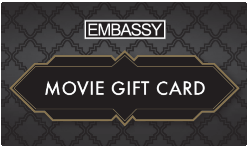 The Embassy Theatre gift card