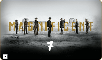 Magnificent Seven Gift Card