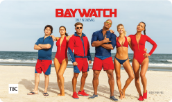 Baywatch Movie Gift Card