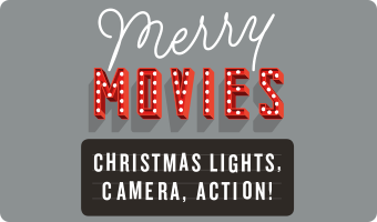 Christmas Movie Gift Card Silver