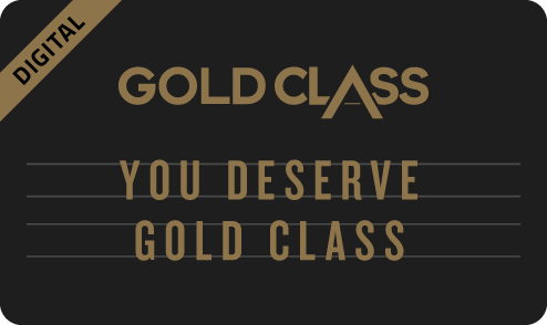 You Deserve Gold Class eGift Card