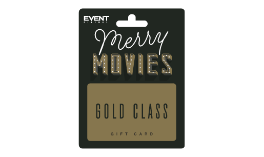 EVENT Christmas Gold Class Gift Card