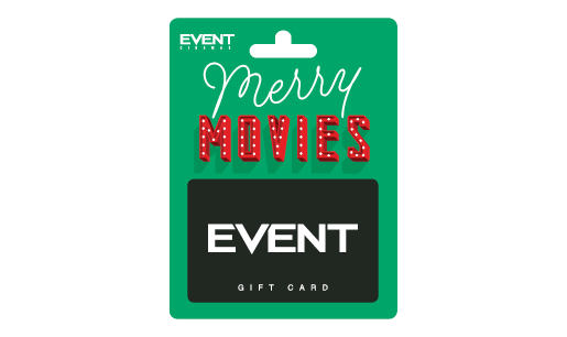 EVENT Christmas Green Gift Card