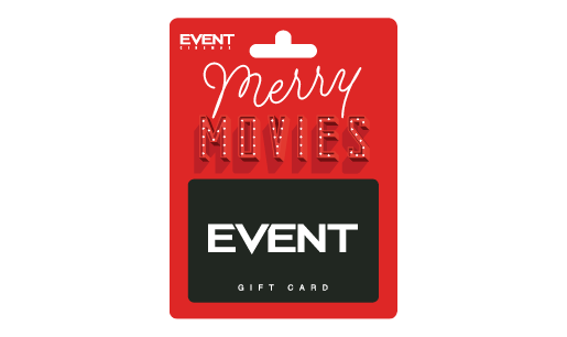 EVENT Christmas Red Gift Card