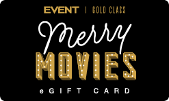 EVENT Christmas Gold Class eGift Card