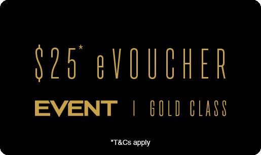 Family & Friends Gold Class eVoucher