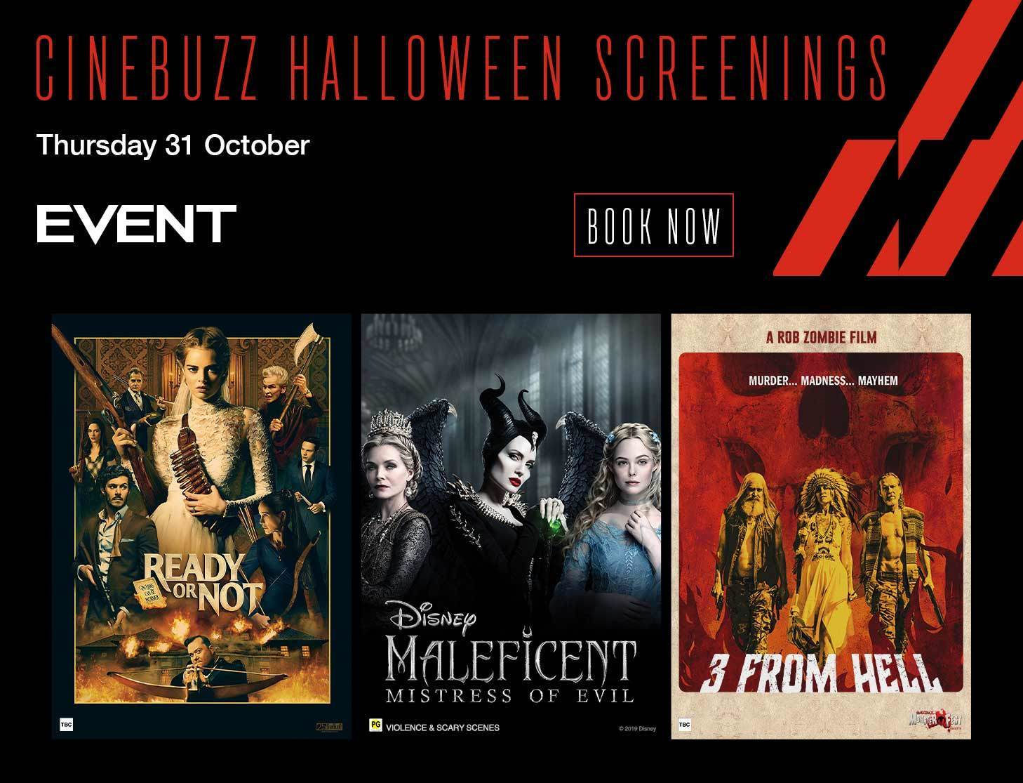 Cinebuzz Halloween Screenings Event Cinemas